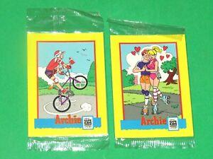 1991 IMPEL  ARCHIE NATIONAL SAFE KIDS CAMPAIGN PROMO 6 CARD SEALED UNOPENED SET!