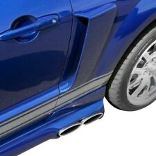 For Ford Mustang 2005-2009 Duraflex CVX Style Fiberglass Side Scoops Unpainted
