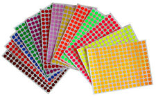 Sticker Labels For Marking 8mm 14 Inch Color Coding Dot Art Stickers 2340 Pack