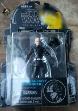 STAR WARS BLACK SERIES IMPERIAL NAVY COMMANDER 3.75 MOC #14