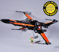 Display Stand for Lego 75102 75149 75218 X-Wing Starfighter Starwars(stand only)