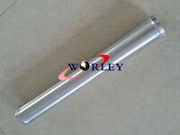 "2.5"" 63mm Straight Aluminum Turbo Intercooler Pipe Piping Tube Tubing L=600mm"