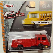 Brand New Maisto Die Cast Fire Engine (Denver Pumper)
