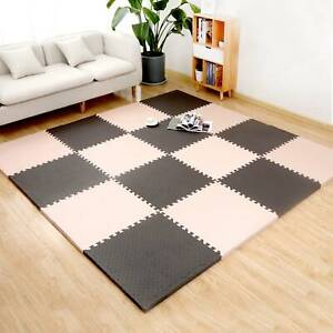 40 Large Soft Foam EVA Kids Floor Mats Jigsaw Tiles Interlocking Garden Play Mat