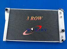3 Row Aluminum Radiator for Chevy Corvette 5.7 L83 / S10 V8 Conversions 84-90