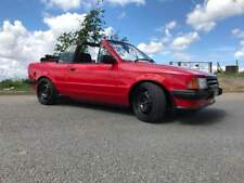 Ford Escort Cabriolet - 1.8 Zetec on Twin 40s -150BHP