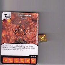 DICE MASTERS DC WAR OF LIGHT COMMON #54 LARFLEEZE AVARICE CARD & DICE