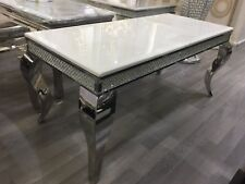 LUXURY ITALIAN COFFEE TABLE NEW HEAVY STONE CALL 0208 951 5382