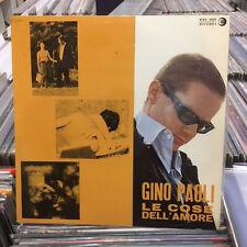 GINO PAOLI - LE COSE DELL' AMORE- LP VINILE PRIMA STAMPA COPERTINA LAMINATA -