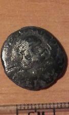 Moneda 1334 denario de plata Román Coín moneda romana denario de plata