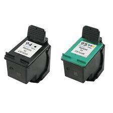 HP94+HP95 Reman Ink Cart 180% More Ink Deskjet 460 460c 460cb 460wf 5740 5743