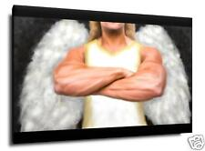 "GUARDIAN WARRIOR ANGEL Art Canvas Giclee ~ HUGE 24"" x 36"" ~ Ltd Edition! 3/25"