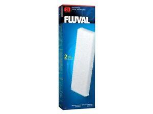 Fluval U3 Fish Turtle Tank Filter Bio Foam Pad - 2 pk - A487
