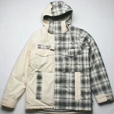 Burton GMP Thatcher Snowboard Jacket (L) White