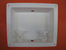 Mobile Home Parts. Washing Machine Outlet Box Plumbing  W/Hot & Cold Valves