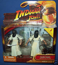 INDIANA JONES RAIDERS OF THE LOST ARK FIGURE 2 PACK - CAIRO THUGS NEW MOC NIB