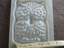 """Resin Mold Owl Light Switch Cover Plate 5"""" 127mm Epoxy Decor Mould Molds"""