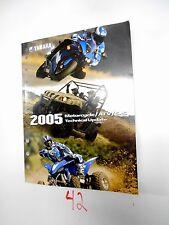 Yamaha Atv Motorcycle SxS 2005 Technical Update Manual