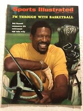 1969 Sports Illustrated BOSTON Celtics BILL RUSSELL Retires NO LABEL NewsStand