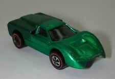 Redline Hotwheels Green 1968 Ford J Car oc12003