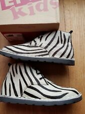 Animal print  Leather ankle boots Gioseppo for kids uk11 eu 30