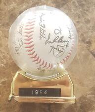 Montréal Expo  baseball ball 1994 autographed