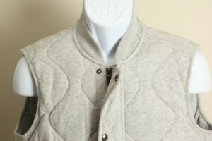 NWT Polo Ralph Lauren Men's gray quilted sleeve Vest Small S new