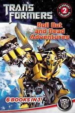 TRANSFORMERS Roll Out and Read Adventures 6 BOOKS IN 1 HASBRO 2014 NEW