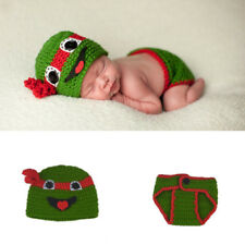 Newborn Baby Photo Photography Prop Hats Outfits Unisex Crochet Knit Costume