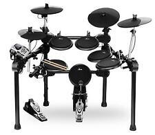 Batteria Elettronica Drum Set Percussione Modulo 458 Suoni Rack Pedali Pads Nero