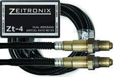 Zeitronix Zt-4 Dual Wideband O2 Sensor Air / Fuel Ratio Meter AFR Made in USA