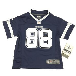 Nike NFL Dallas Cowboys Dez Bryant #88 Game Jersey Toddler 4T BRAND NEW