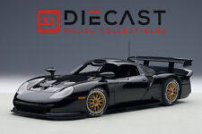 AUTOART 89770 PORSCHE 911 GT1 1997, PLAIN BODY VERSION, BLACK 1:18TH SCALE