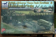 1/35 Bronco British Airborne 75mm Howitzer, with Jeep and Trailer