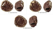 Franklin Sports Ready-To-Play Pro Series Leather Baseball Fielding Gloves - RHT