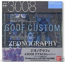 Used Bandai Zeonography #3008 Gouf Custom