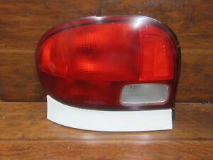 Geo & Chevy Metro 4 Door: 1995, 1996, 1997, 1998, 1999, 2000, Left Tail Light
