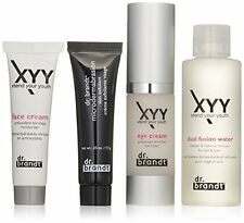 Dr. Brandt XTEND YOUR YOUTH 4PC SET- EYE CREAM 0.5 Oz, CLEANSER 2Oz, CREAM, EXFO