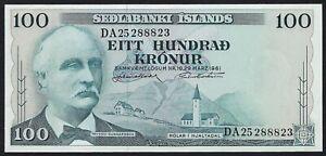 Iceland 100 Kronur 1961 (P-44a)