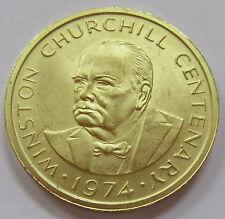 1974 Turks & Caicos Islands 50 Crowns Gold Coin - Winston Churchill KM# 3