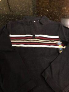 Gymboree Boys Cotton 1/4 Zip Sweater, NWT Size 7