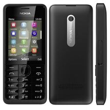 Nokia Asha 301 3.2MP Mobile Phone Bluetooth Cell Phone - Unlocked Black