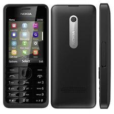 Nokia Asha 301 3.2MP Mobile Phone Bluetooth Cell Phone - Unlocked Black