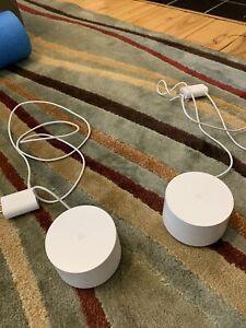 Google WiFi AC1200 Dual-band Mesh Wi-fi Router - White