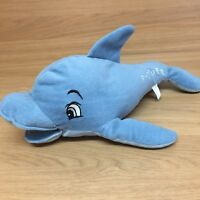 Vintage Flipper the Dolphin Blue Plush Soft Toy Stuffed Animal