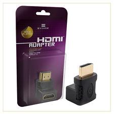 Exinoz ® Gold-Plated Adattatore HDMI (90 gradi) per cromecast Roku Fire & Apple TV