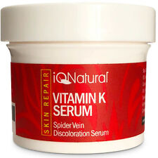 VITAMIN K SERUM FOR BRUISES AND SPIDER VERICOSE VARICOSE VEINS CREAM 2oz