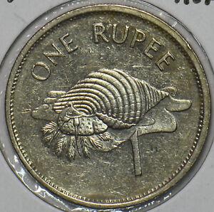 Seychelles 1997 Rupee Sea Snail animal 903572 combine