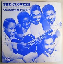 The Clovers Featuring Charlie White All Righty Oh Sweetie LP R&B Soul Blues