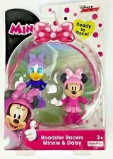 Disney Junior Minnie Mouse Daisy Duck Roadster Racers Posable Figures Toy New